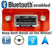 Bluetooth Enabled Stereo For 64-66 Mustang Am Fm Radio 300 Watts Usb Ipod