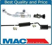 Front Engine Flex Pipe Rear Converter And Muffler W/ Gaskets Fits 01-02 Acura Mdx