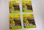 Lego Minifigs - 4 Pack New Lego Minifigure Series 16 Banana Suit Guy 71013
