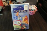 The Lion King Vhs 1995 Factory Sealed