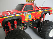 New Tamiya Rc 1/10 Super Clodbuster A Black Rubber Fender Flare Flares Guard