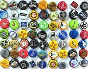 500 Mixed Assorted Beer Bottle Caps - Great Colors No Dents Great Mix
