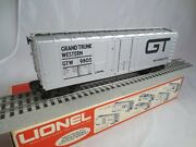 Lionel Std And039oand039 6-9805 Grand Trunk Box Car