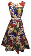 Womenand039s Audrey Hepburn 1950and039s Rockabilly Dress + Laundry Bag