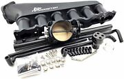 Rb20 Npboosted Complete Rb Intake Manifold 90mm Throttle Body 14mm Fuel Rail Set