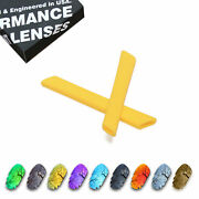 Polarized Replacement Lens And Yellow Rubber Ear Socks For- Jawbone Vented