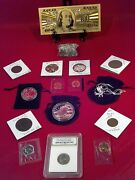 ☆junk Drawer Loteagle Necklace☆proof Coins+slab Coin/gold100/silver+much More
