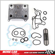 Upgraded Oil Cooler Kit Fit 03-10 Ford E-350 F-250 F-350 6.0 Diesel 3c3z6a642ca
