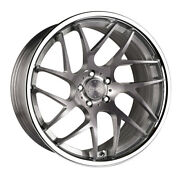 20 Vertini Rf1.4 Forged Titanium Concave Wheels Rims Fits Ford Mustang Gt Gt500