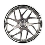 20 Vertini Rf1.4 Forged Titanium Concave Wheels Rims Fits Ford Mustang Gt