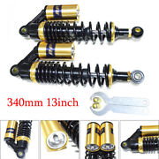 340mm 13 Motorcycle Scooter Rear Air Shock Absorber Sping Damper Suspension