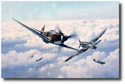 Russian Roulette By Robert Taylor - Yak 3 - Me109 - 6 Aces Signatures - Wwii