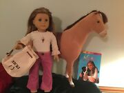 American Girl Horse And Doll Nicki Retired Doll Of The Year - 2007 + Horse