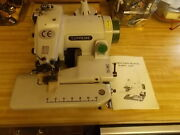 Tacsew T500 Industrial Blindstitch Hem Sewing Machine + Manuals Excellent