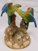 Early Royal Worcester Porcelain 19th Century Marks And039hadley Birds