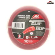 Commercial Grade String Weed Eater Trimmer Line .105 New