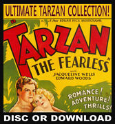 Tarzan Ultimate Collection ☆ Comics Posters Books Radio Disc Or Download ☆