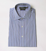 Polo Menand039s Regent Custom Fit Long Sleeve Button Down Dress Shirt