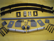 Chassis Engineering As-0010cgy Universal Leaf Spring Rear End Kit Hot Rat Rod