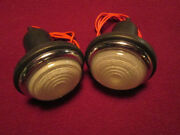 Lucas L488 Lamps, Frosted Glass, Austin, Austin-healey 100, Land Rover, Tr2, Nos