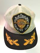 Rare Vintage Collectible Jack Daniels Country Club 19th Hole Mesh Snap Back Hat