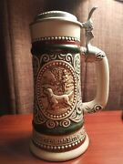 Avon Large Beer Stein Handcrafted In Brazil 1977