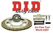 Did Upgrade Chain And Sprocket Kit + Tool Honda Cbr600rr 7-g Inc Abs 07-16