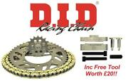 Did Upgrade Chain And Sprocket Kit + Tool Ktm 250 Gs Enduro 91