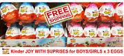 Chocolate Kinder Joy With Surprise Eggs In Toy And Chocolate 3 X Eggs New Malaysia