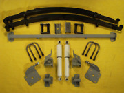 1955-59 Chevy Gmc Truck Chassis Engineering Rear End Leaf Spring Kit As-1013cgy