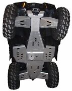 Ricochet Off-road 8 Pc Skid Plate 2010-17 Polaris Sportsman Touring And X2