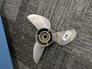 Ss 2 Clever Style Propeller 13 X 21 Rh 3b Stainless Steel - 4 Gear Case