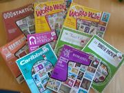Lot Of Unopened Vintage World Wide Treat Stamp Collections