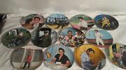 12 Elvis Looking At A Legend Delphi Bradford Exchange Plates Issues 1-5, 8-14