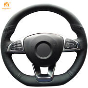 Leather Steering Wheel Cover For Benz C200 C250 C300 B250 B260 A200 A250 Ba19