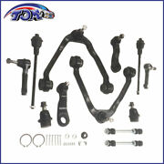 12pcs Front Suspension Control Arm Kit For Chevrolet Gmc Truck Check 2wd/4x4
