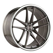 20 Vertini Rf1.5 Forged Titanium Concave Wheels Rims Fits Ford Mustang Gt Gt500