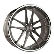 20 Vertini Rf1.5 Forged Titanium Concave Wheels Rims Fits Ford Mustang Gt