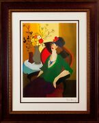 Tarkay Happy Recollection Color Seriolithograph Archival Paper Signed In Plate