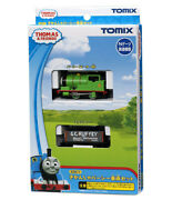 Tomix 93811 Thomas Tank Engine And Friends Percy 2 Cars Set [n Scale]