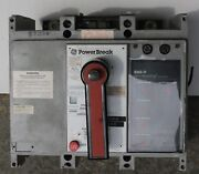 Used Excellent Condition Ge Tp88se3c 800 Amp/ 600 Volt 2 In Stock