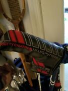Scotty Cameron Titleist Milled Putters Putter Cover. Used But Not Abused.