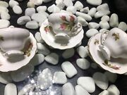 Antique Ohata China 6excellent Cups And Saucers Made In Occupied Japan 1947 Era