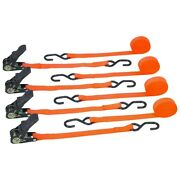 Ratcheting Tie Downs 4 Pc
