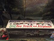 2002 Hess Tow Truck And Airplane Vintage,collectible, New In Box
