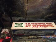 1992 Hess Truck 18-wheeler And Racer Mint New In Box