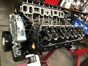 347 Ford Long Block,engine Cradle,with Oil Pan And Tc, Ford Iron Heads Direct Fit