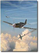 Short Fuse Sallee By Jim Laurier - P-51 Mustang - Aviation Art Print