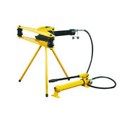 Hydraulic Pipe Tube Bender With Separable Hand Pump 1/2 - 2 W-2f