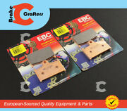 For 1989 - 1992 Suzuki Gsx-r1100 - Front Ebc Hh Rated Brake Pads - 2 Pairs